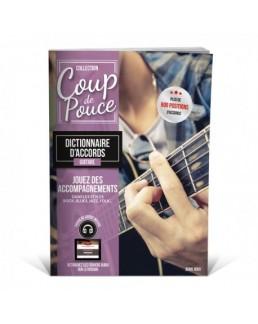 Coup de pouce Dictionnaire accords guitare CD