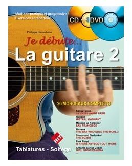 Je débute la guitare 2 Heuvelinne CD + DVD