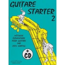 Guitare Starter 2 Cees Hartog avec CD