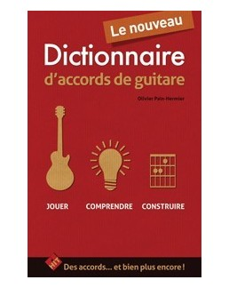 Le nouveau dictionnaire d'accords de guitare