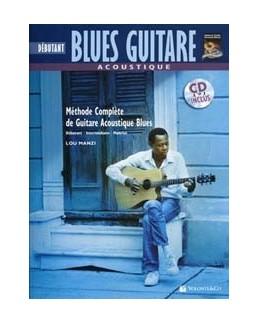 Débutant blues guitare acoustique MANZI