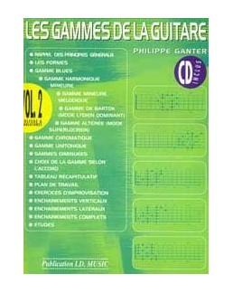 Gammes de la guitare GANTER 2 CD