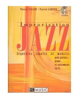 Improvisation Jazz VAILLOT LARBIER CD