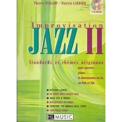 Improvisation Jazz  VAILLOT LARBIER 2 CD