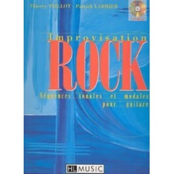 Improvisation rock VAILLOT LARBIER CD