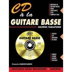 CD à la guitare basse DARIZCUREN