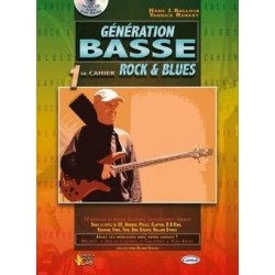 Génération basse rock & blues ROBERT KULLOCK CD