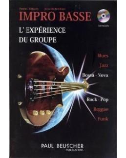 Impro basse  BILLAUDY CD