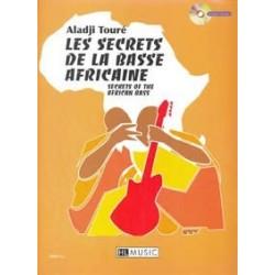 Les secrets de la basse africaine TOURE CD