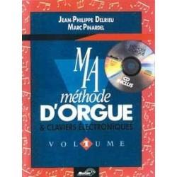 Ma méthode d'orgue et claviers DELRIEU PINARDEL CD