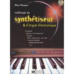 Méthode de synthétiseur et d'orgue MAUGAIN CD