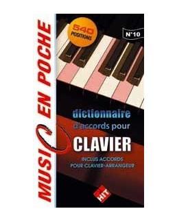 MUSIC EN POCHE Dictionnaire accords clavier