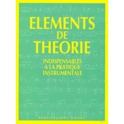 Eléments de théorie Jouve Ganvert H cube
