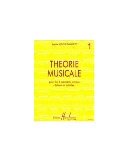 Théorie musicale JOUVE-GANVERT 1