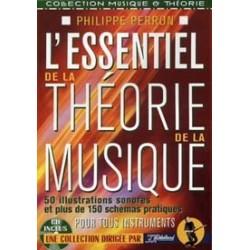 L'essentiel de la théorie de la musique PERRON REBILLARD CD