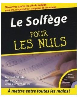 POUR LES NULS Solfège CD