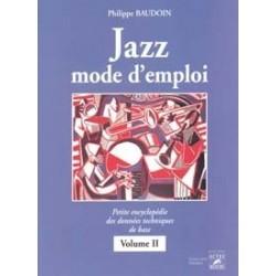Jazz mode d'emploi 2 BAUDOIN