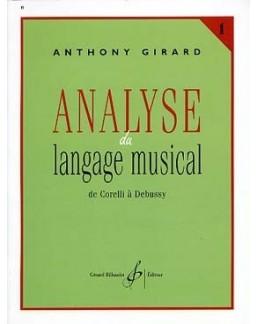 Analyse du langage musical GIRARD 1