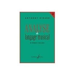 Analyse du langage musical GIRARD 2