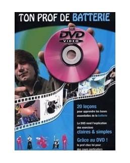 TON PROF de batterie DVD