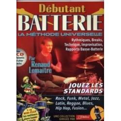 Débutant Batterie LEMAITRE REBILLARD CD