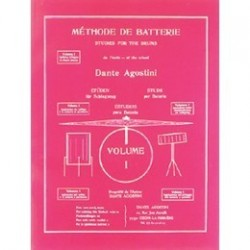 AGOSTINI méthode batterie vol 1
