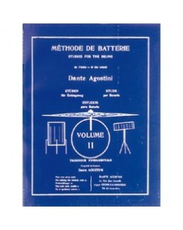 AGOSTINI méthode de batterie vol 2