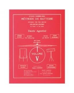 AGOSTINI méthode de batterie vol 5