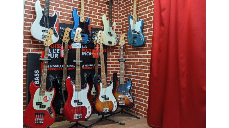 Guitares Basse